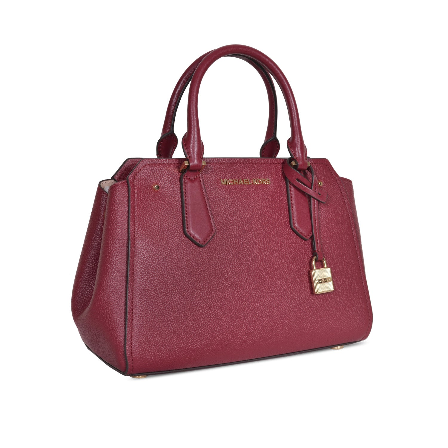 9ccc1239ba48 MICHAEL KORS HAYES LARGE MULBERRY LEATHER SHOULDER BAG – Galleria di Lux