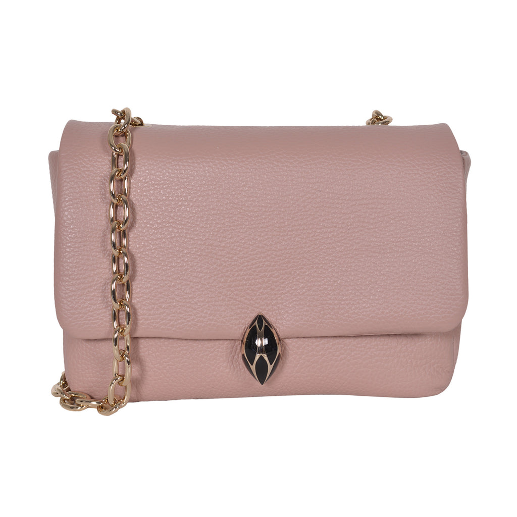 F.E.V PINK LEATHER ASPEN ALL - PURPOSE  BAG