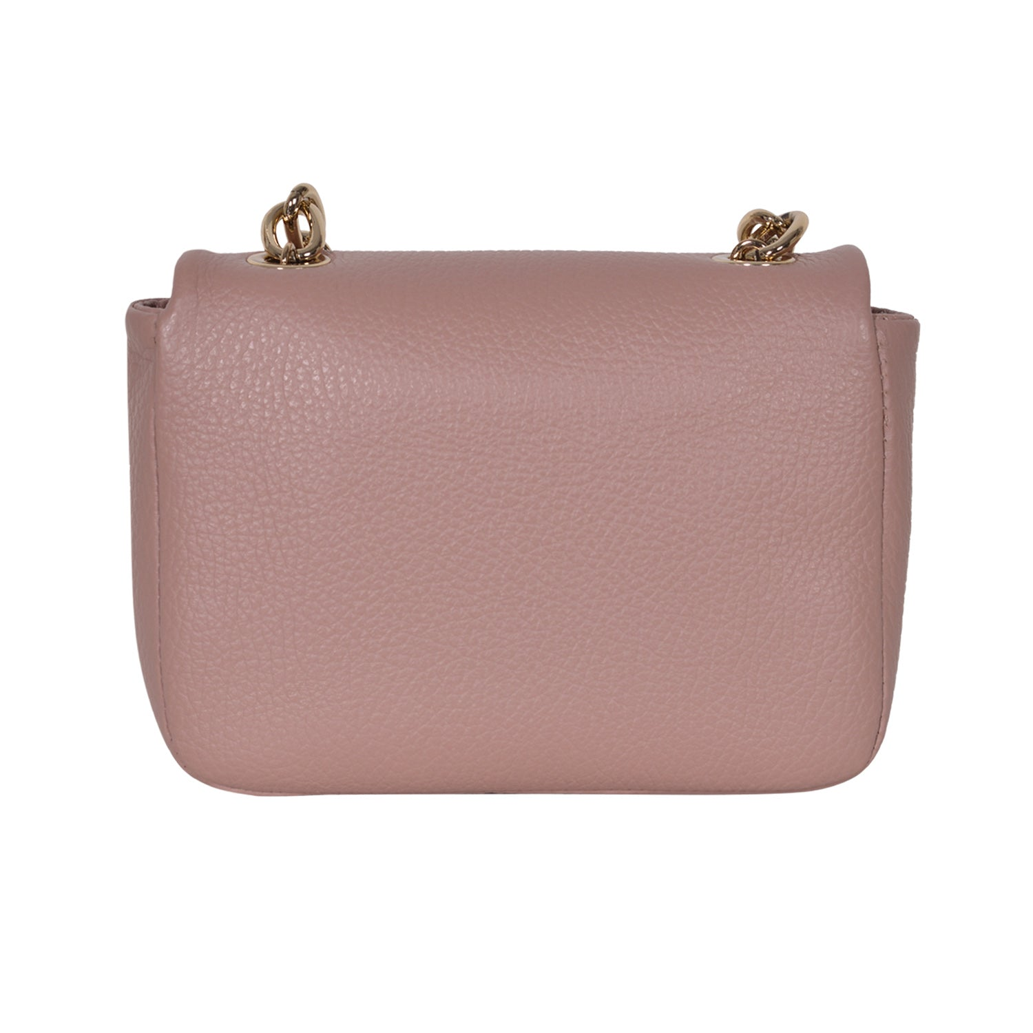 F.E.V PINK MINI LEATHER BELT BAG