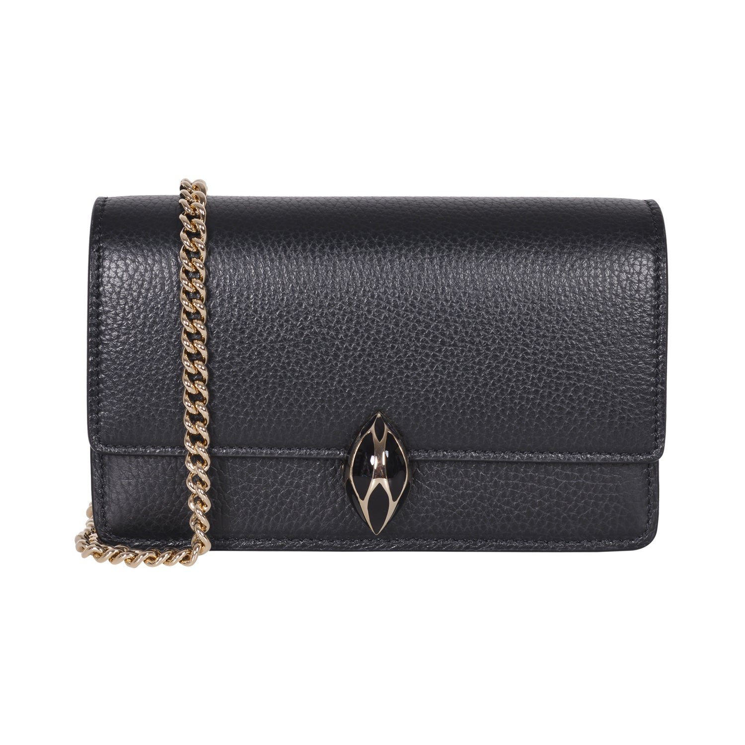 F.E.V  WOMEN'S BLACK  ST. MORTIZ CLUTCH