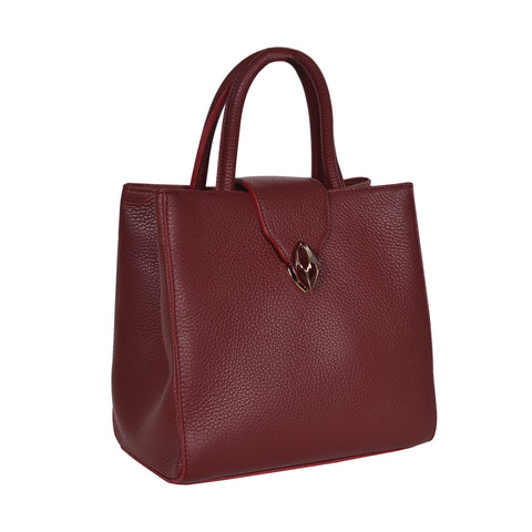 F.E.V  WOMEN'S BORDEAUX  CITY TOTE BAG