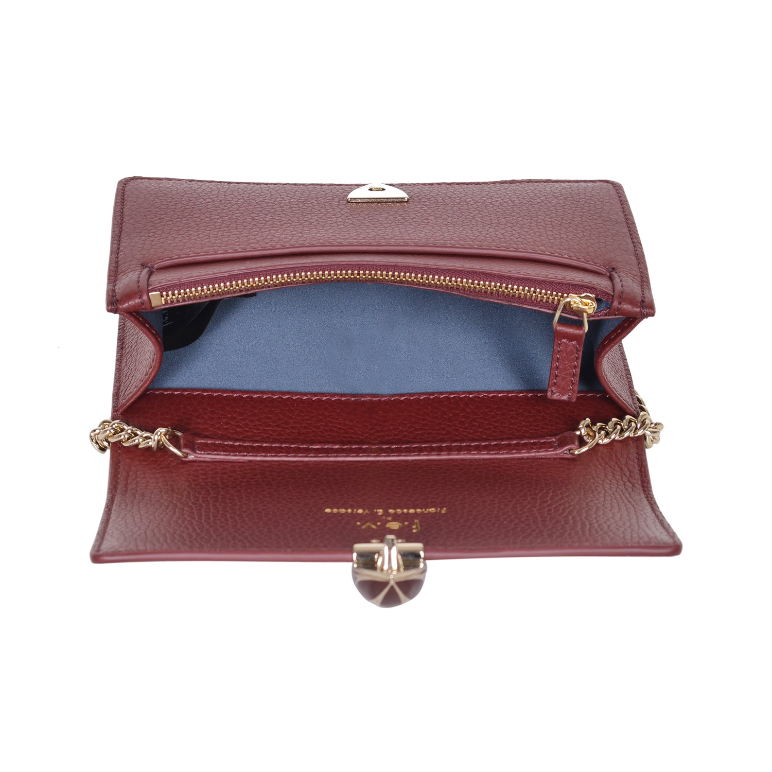 F.E.V  WOMEN'S BORDEAUX  ST. MORTIZ CLUTCH