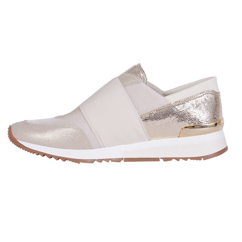 MICHAEL KORS Metallic Pink Sneakers