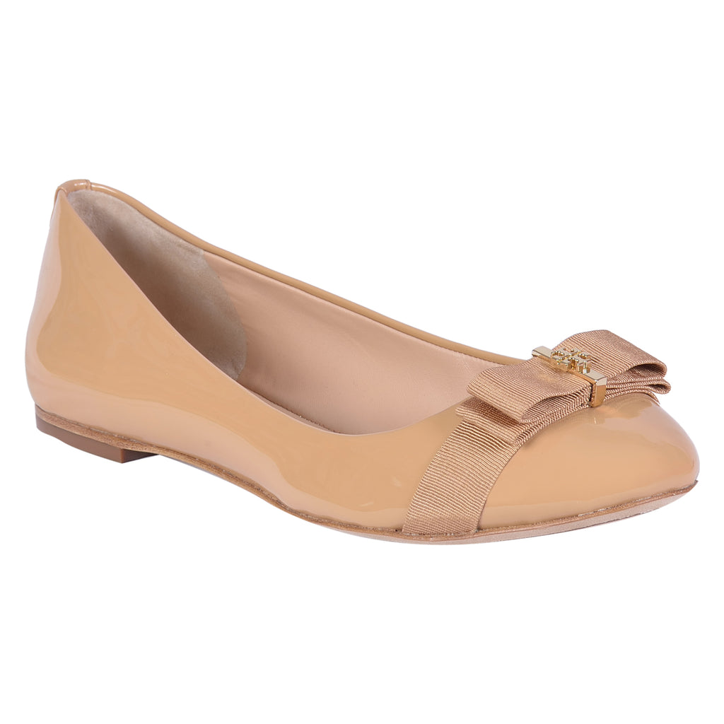 TORY BURCH FLAT TRUDY BOW TIE BALLET