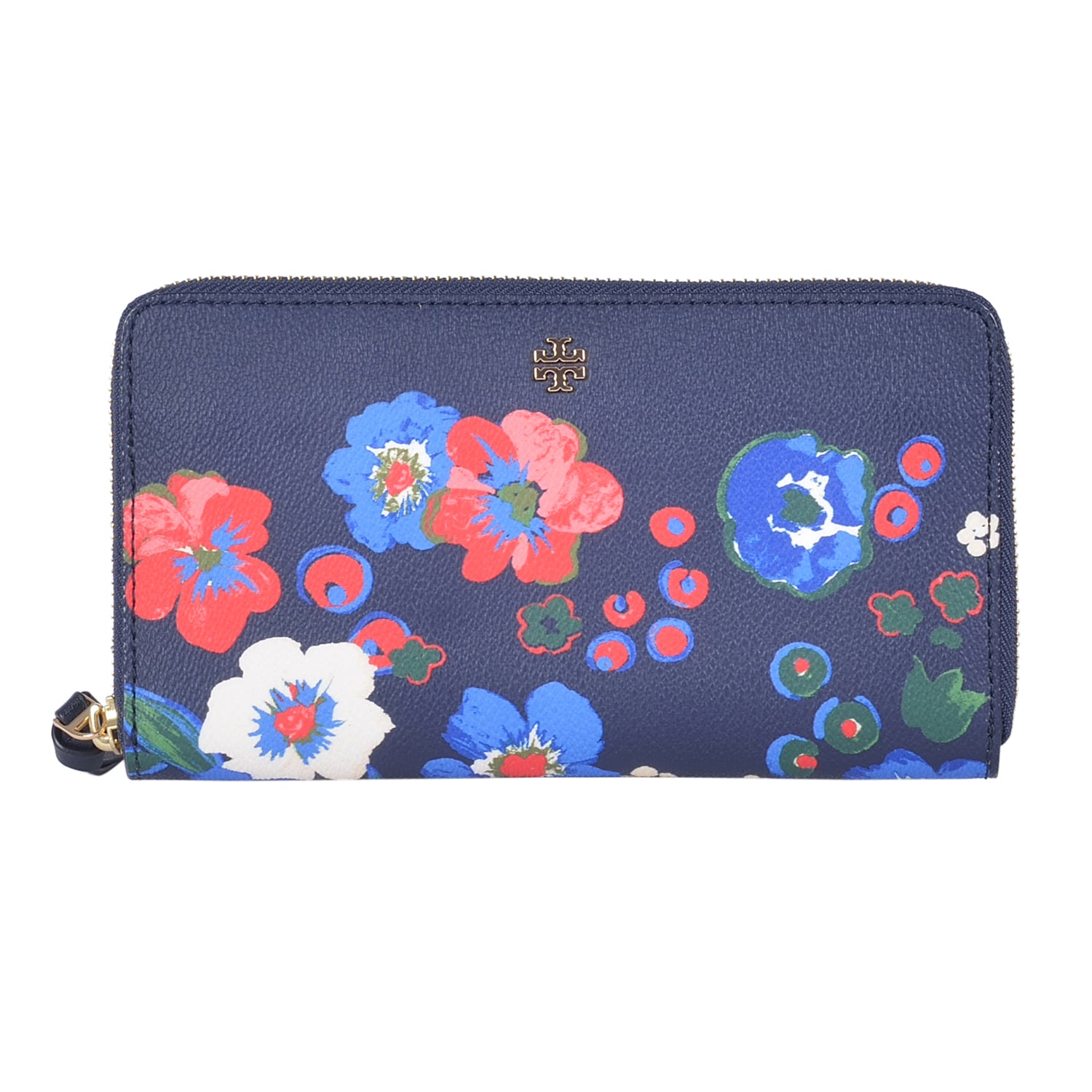 TORY BURCH PANSY BOUQUET WALLET