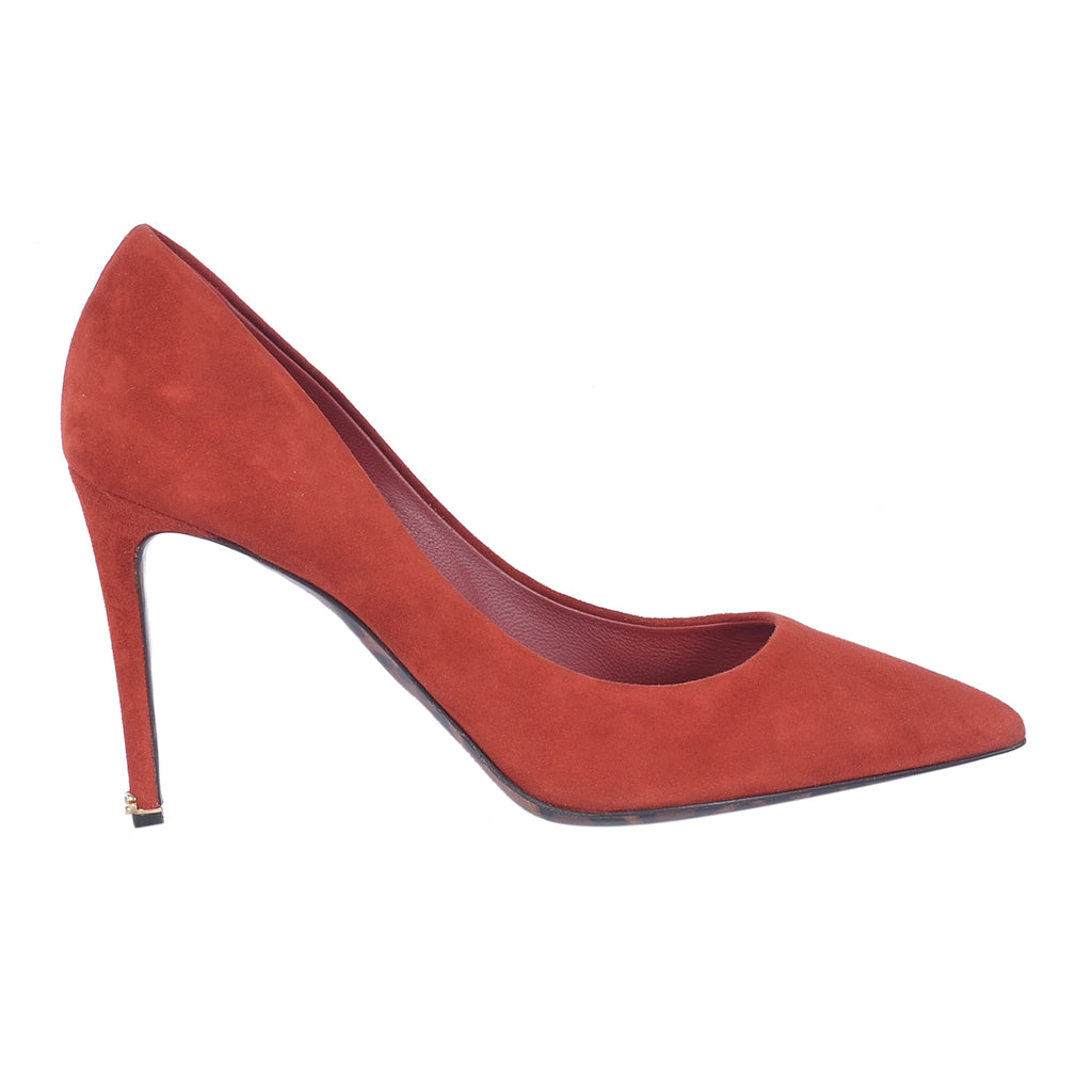 D&G Burned Red Pumps