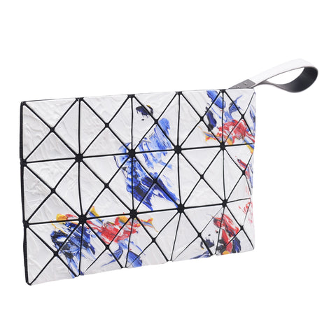 BAOBAO Lucent White Painting Wristlet