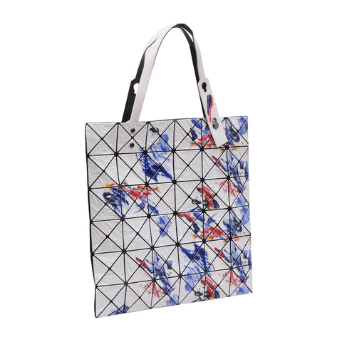 BAOBAO Lucent White Painting Tote