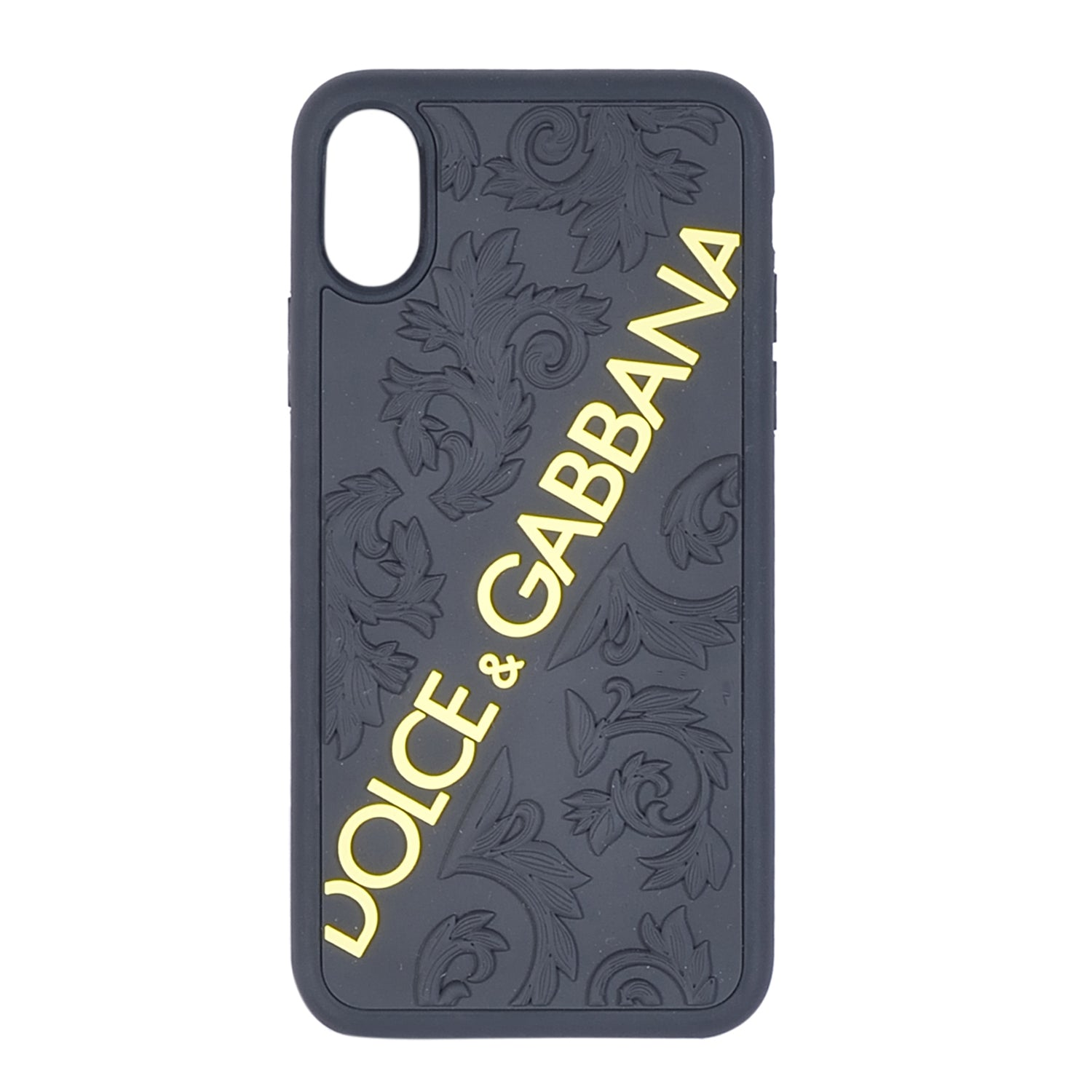 DOLCE & GABBANA Black iPhone X Cover