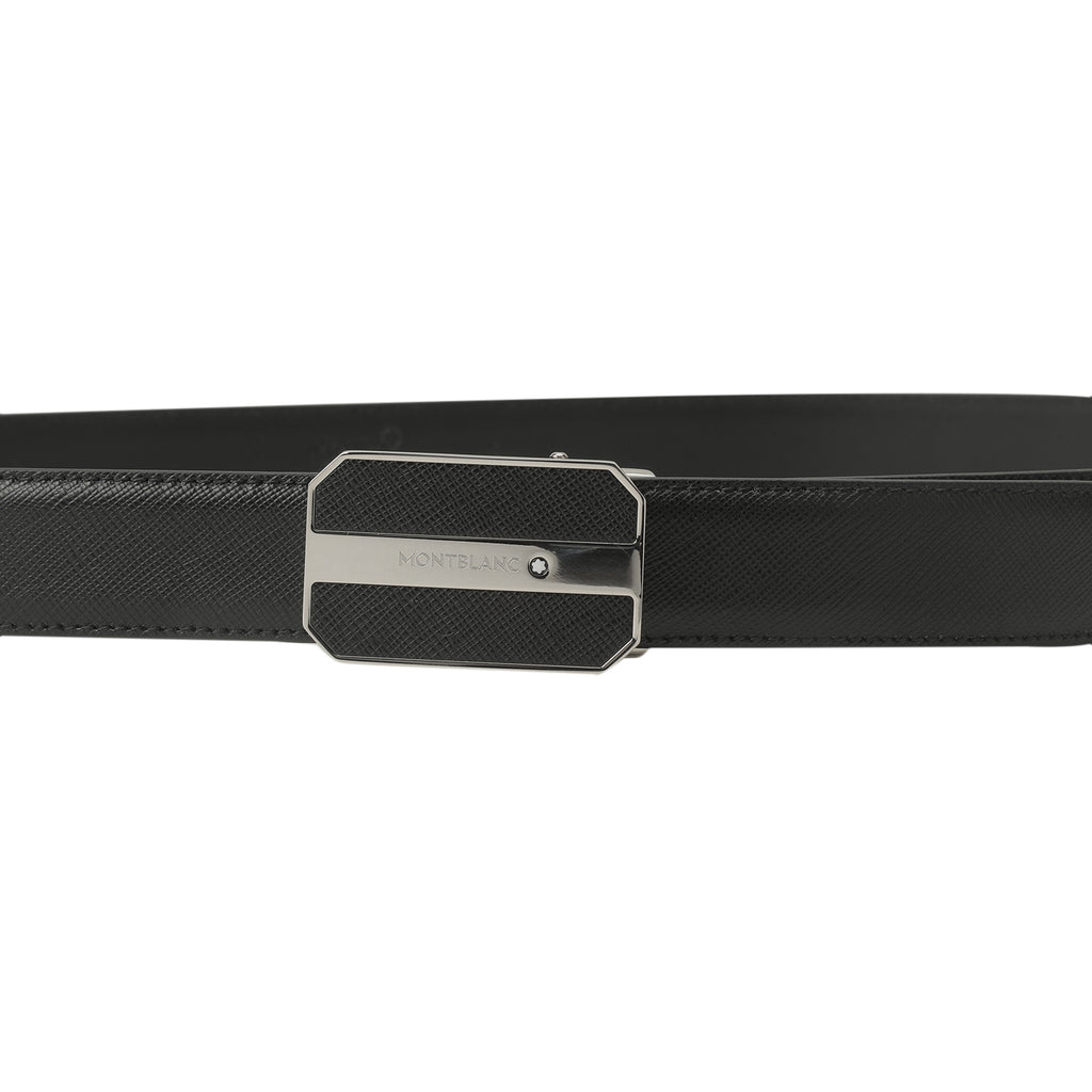 mont blanc octagonal buckle belt | shop online at galleriadilux.com
