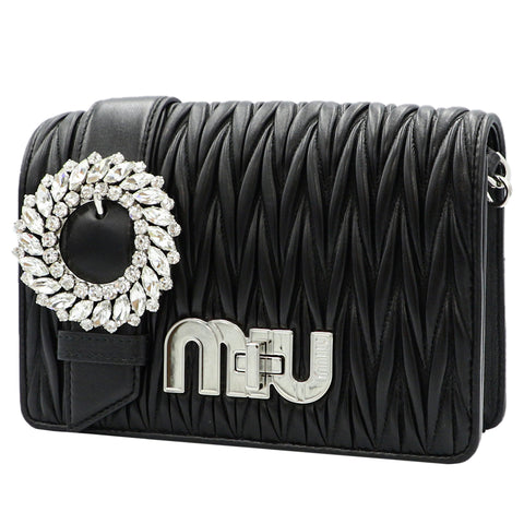 MY MIU MIU BLACKCLUTCH BAG