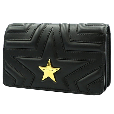 STELLA BLACK STAR SHOULDER BAG