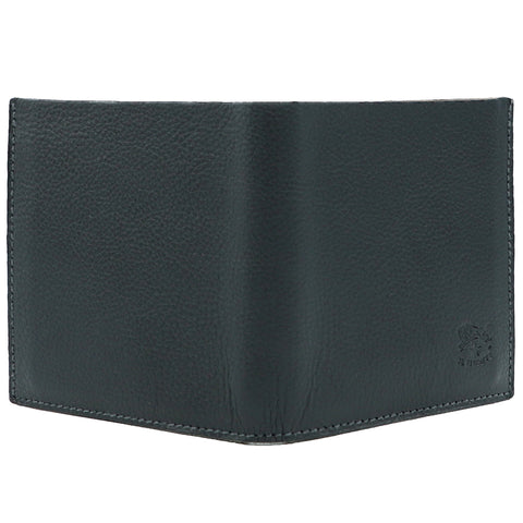 IL BISONTE TRI-FOLD WALLET GREY