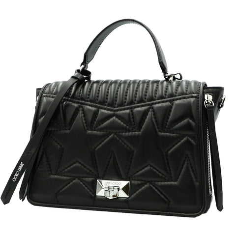 HELIA BLACK HANDBAG