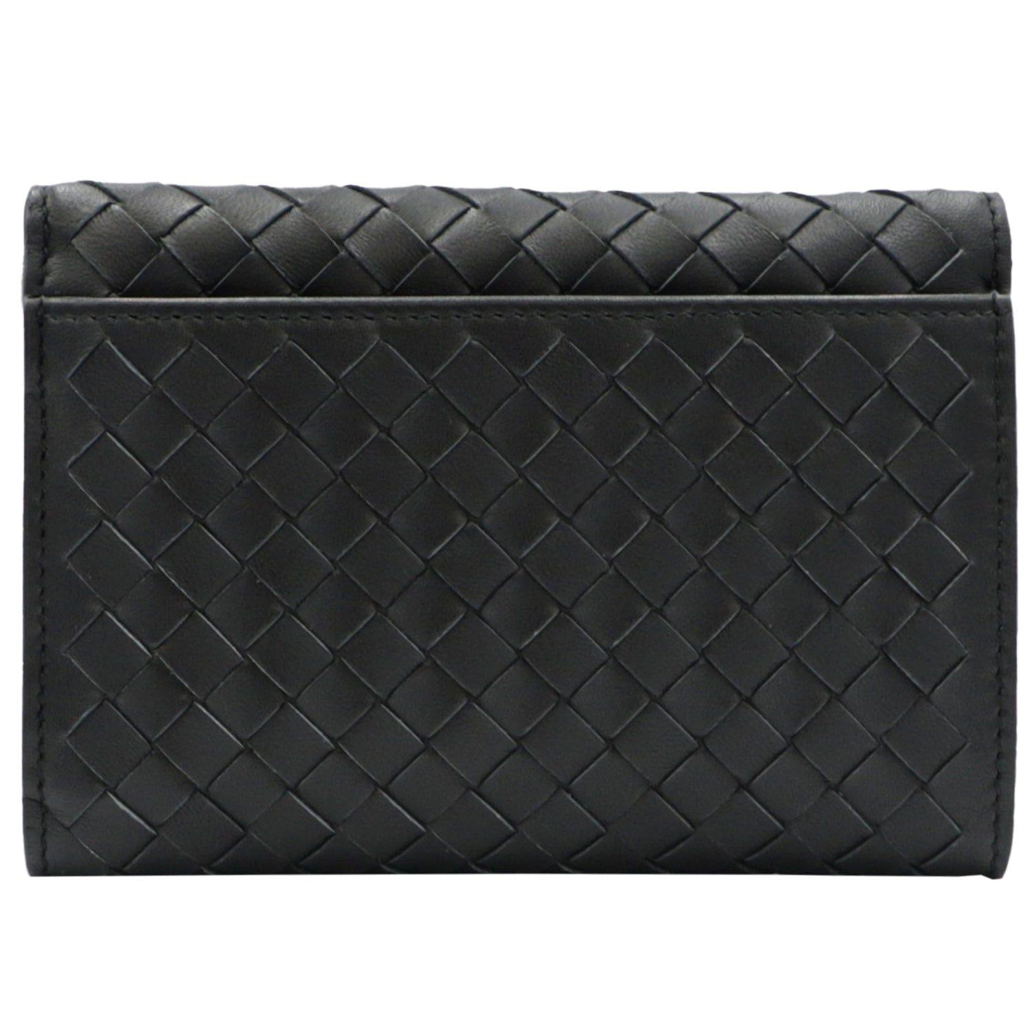 Black Braided Nappa Continental Wallet | Shop BOTTEGA VENETA Online India