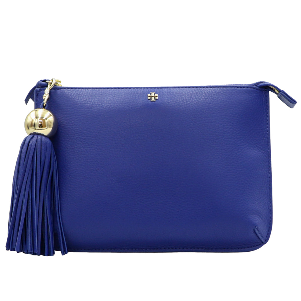 Songbird Tassel-Accent Leather Crossbody Bag | Shop TORY BURCH Online India
