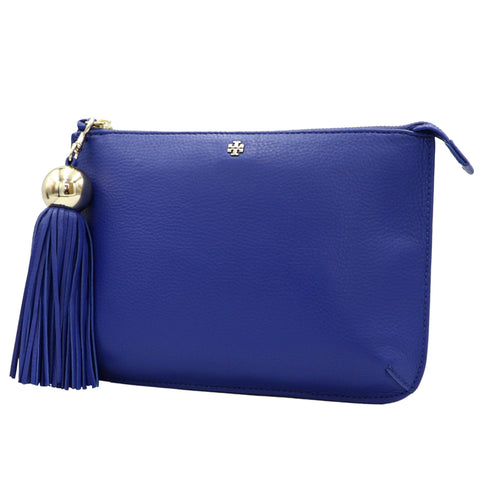 TORY BURCH SONGBIRD TASSEL-ACCENT LEATHER CROSSBODY BAG