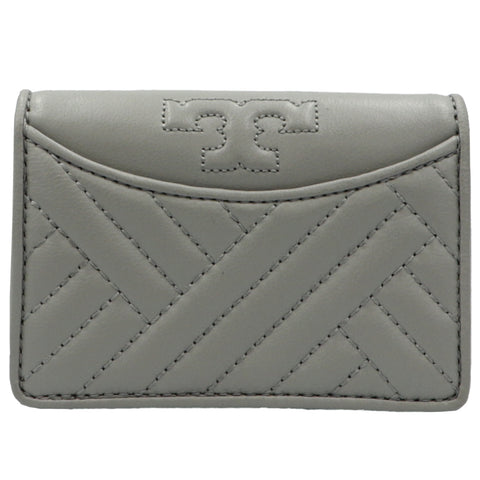 Alexa Concrete Foldable Mini Leather Wallet | Shop TORY BURCH Online India