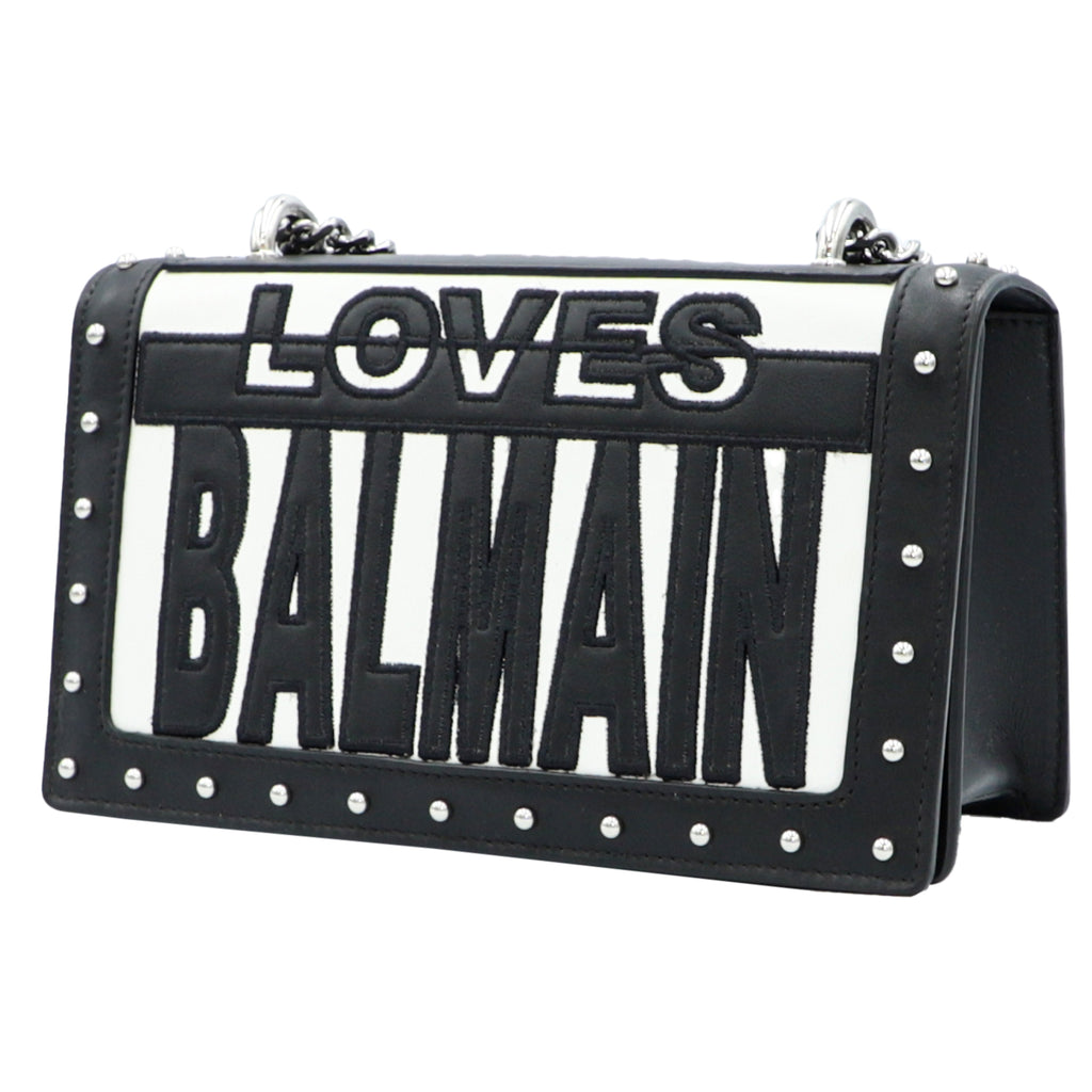 Two-Tone Loves Balmain Bag  | Shop BALMAIN Online India