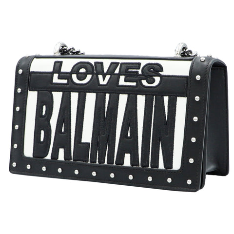 TWO-TONE LOVES BALMAIN BAG