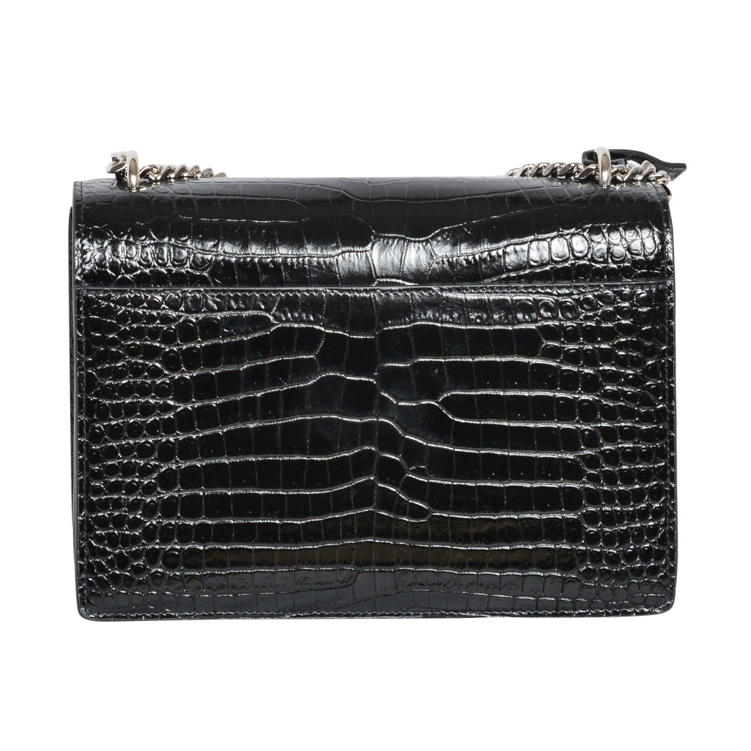 Yves Saint Laurent Crocodile Sunset Handbag