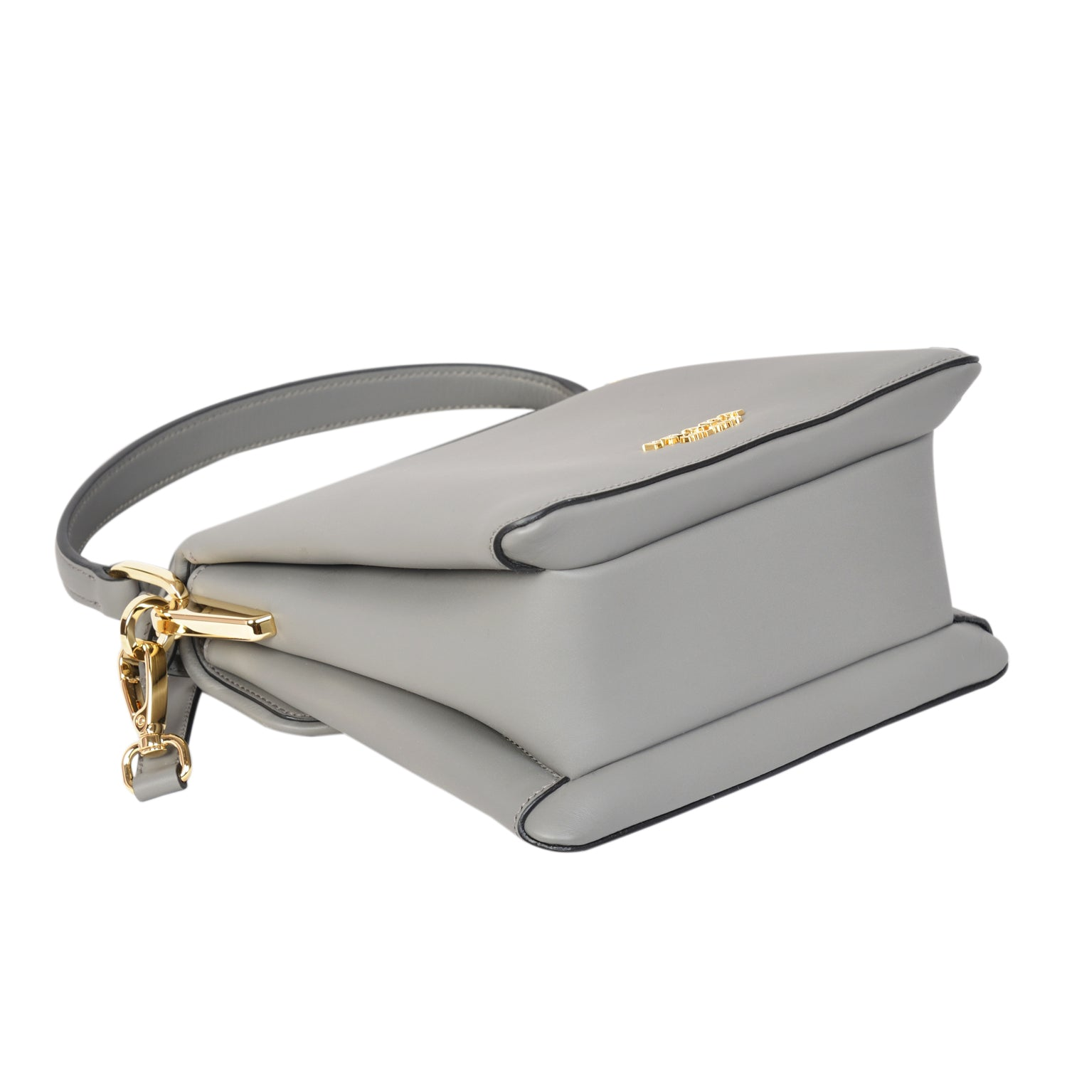 Prada ingrid marble grey small top handle bag in nappa leather. | Shop Luxury Handbag Online