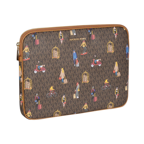 JET SET GIRLS 13 LOGO LAPTOPCASE