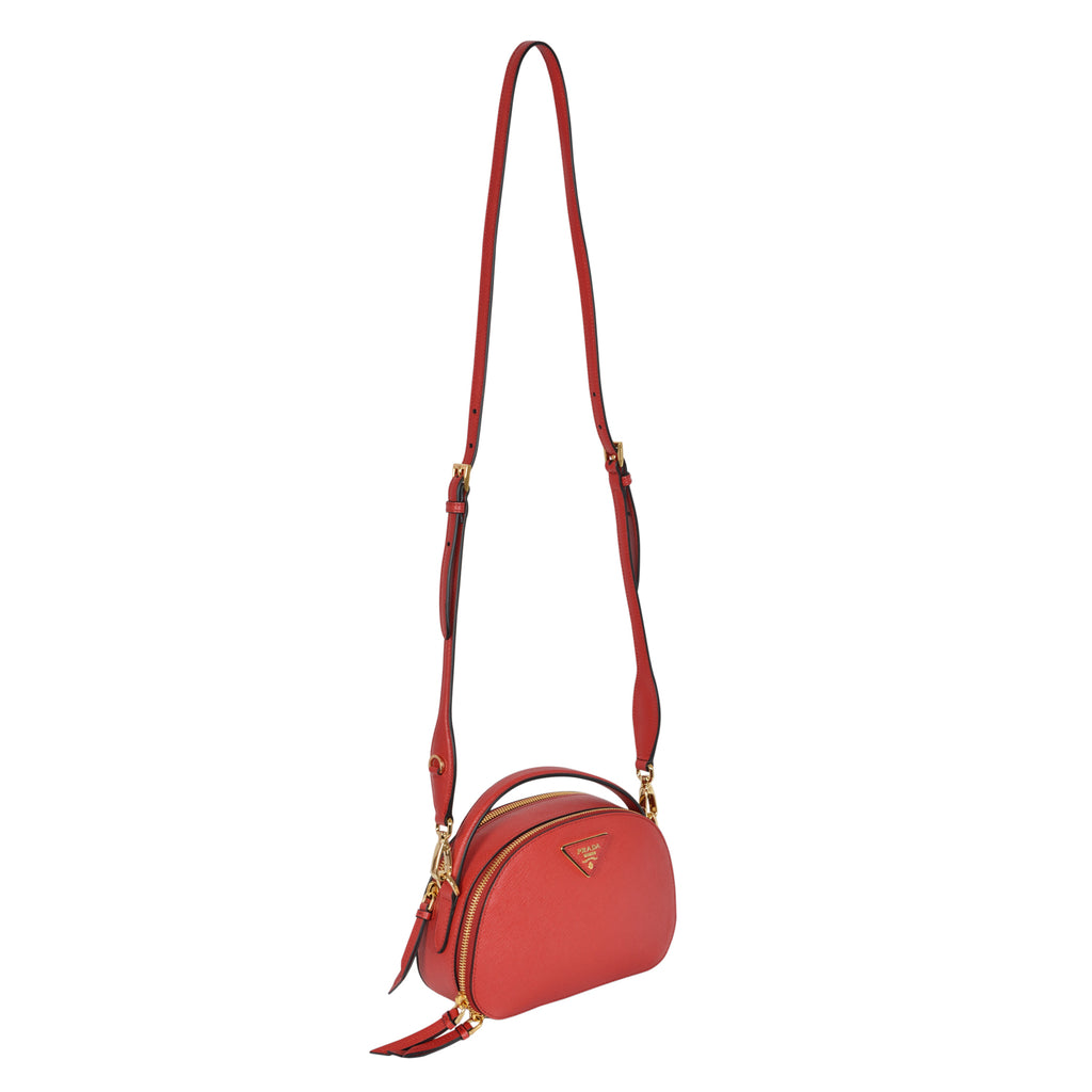 Prada odette bag in saffiano leather  | Shop Luxury Handbag Online