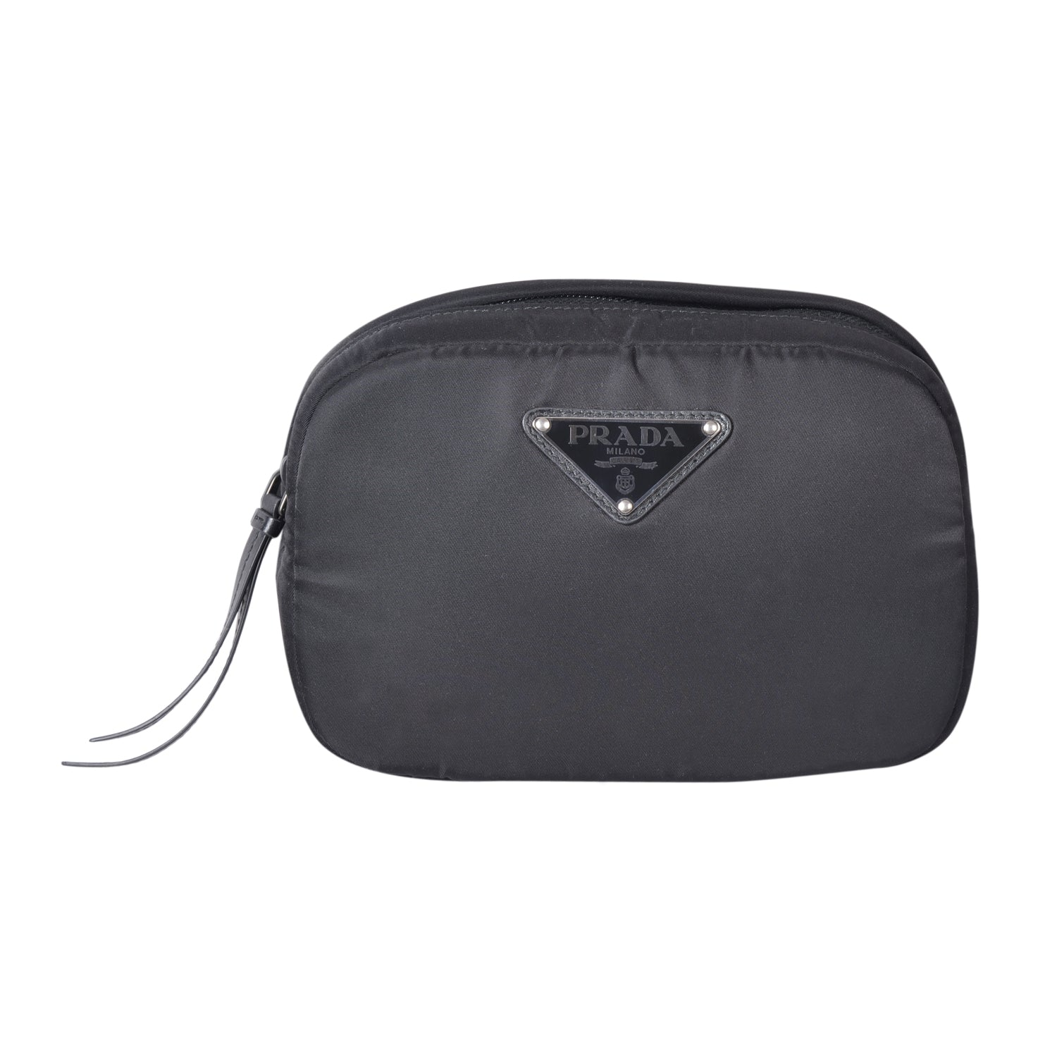 Prada belt bag in black polyamide  | Shop Luxury Handbag Online