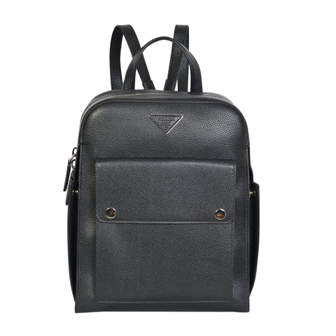 Prada sleek backpack in calfskin leather | Shop Luxury Handbag Online