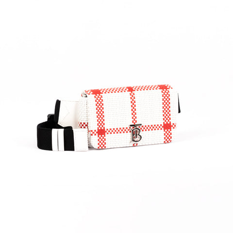 BURBERRY LOLA CHECK BELT BAG