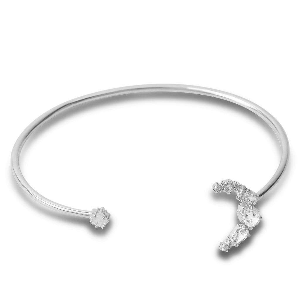 swarovski moonsun open cuff | shop online at galleriadilux.com