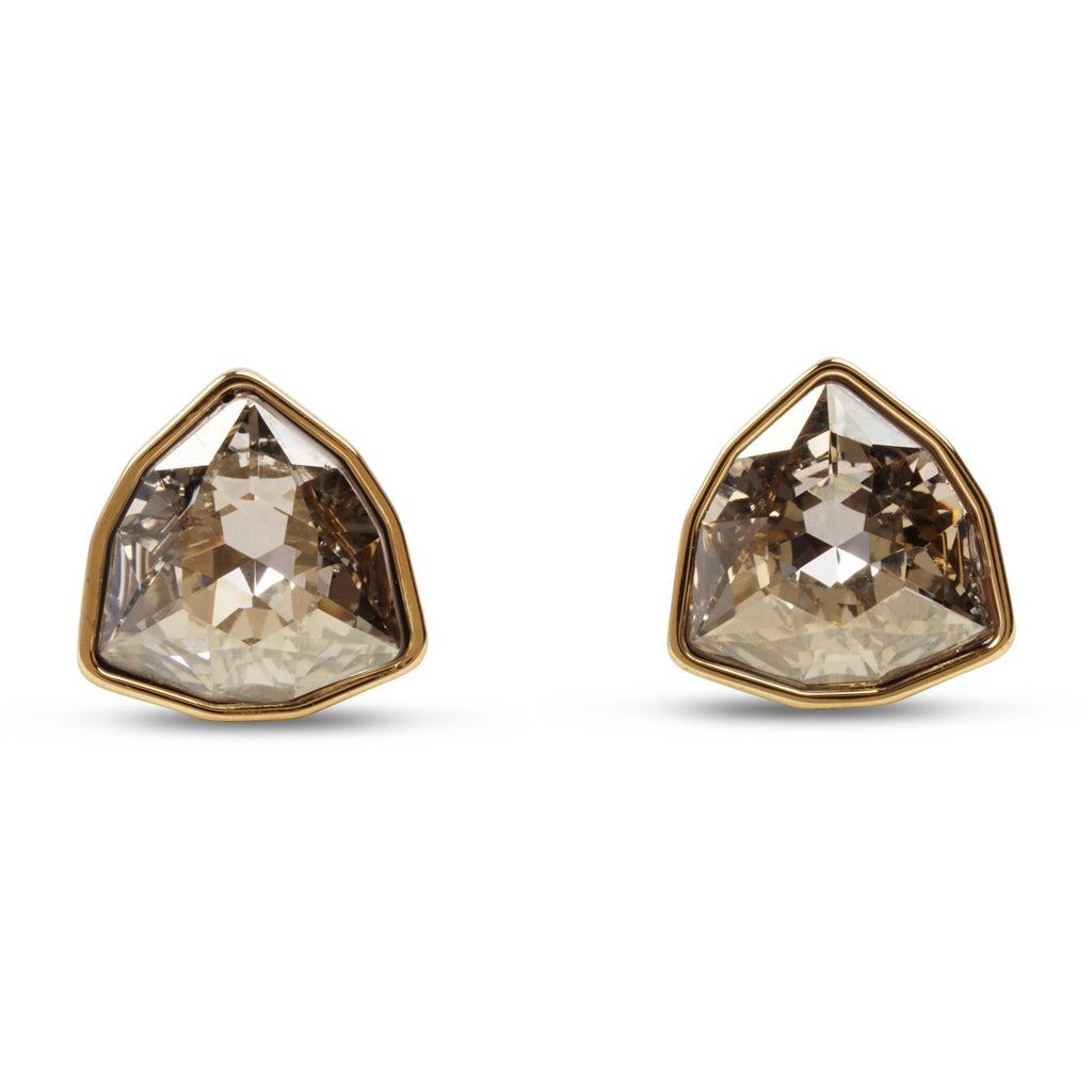 swarovski march fox stud earrings | shop online at galleriadilux.com
