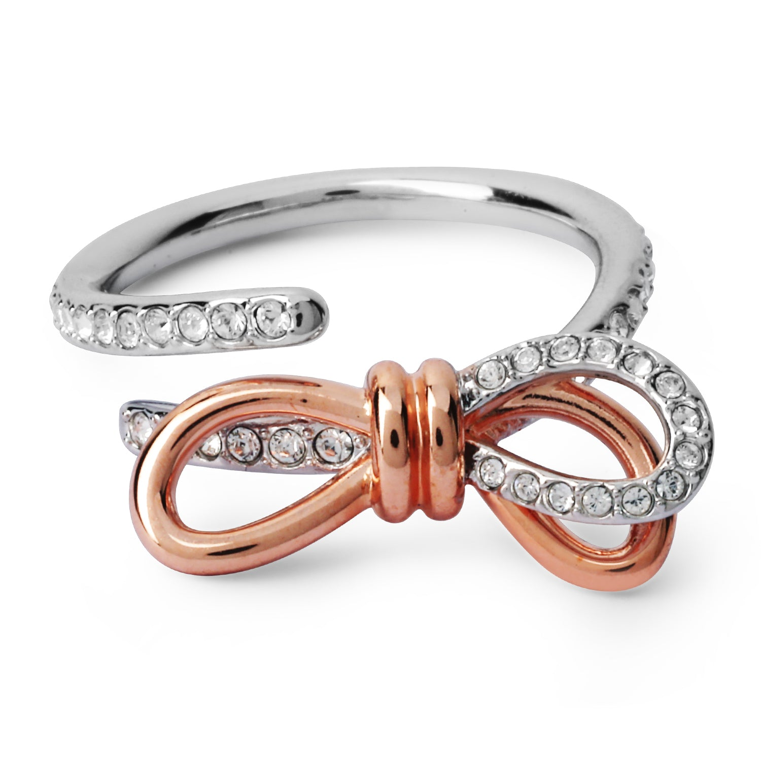 swarovski lifelong bow ring | shop online at galleriadilux.com