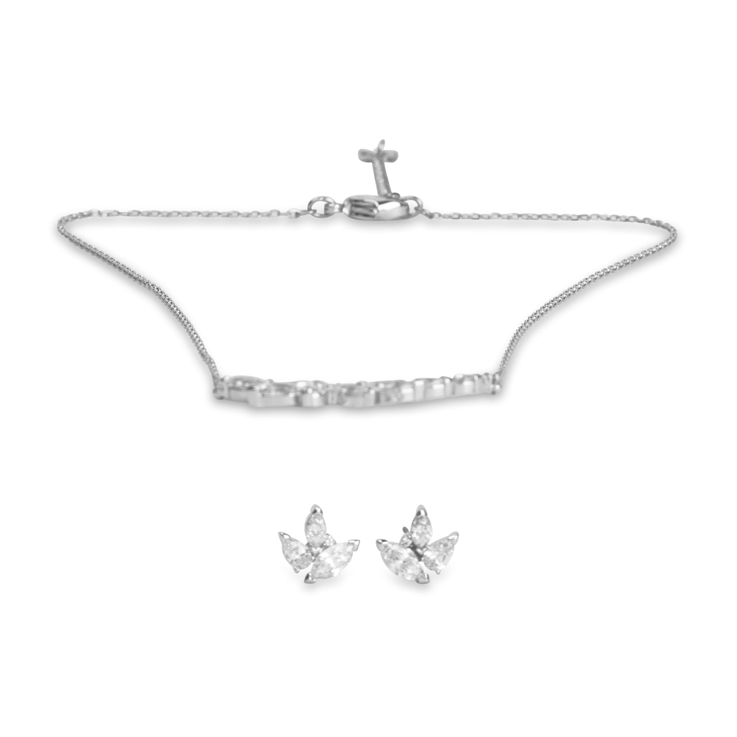 swarovski louison set | shop online at galleriadilux.com