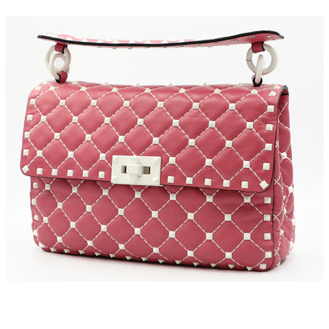 FREE ROCKSTUD SPIKE ROSE BAG