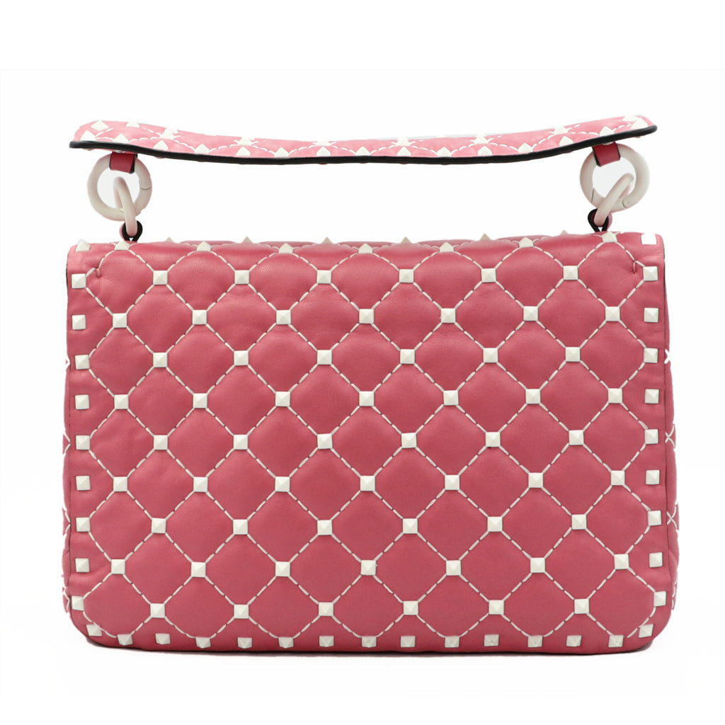 Free Rockstud Spike Rose Bag  | Shop VALENTINO Online India