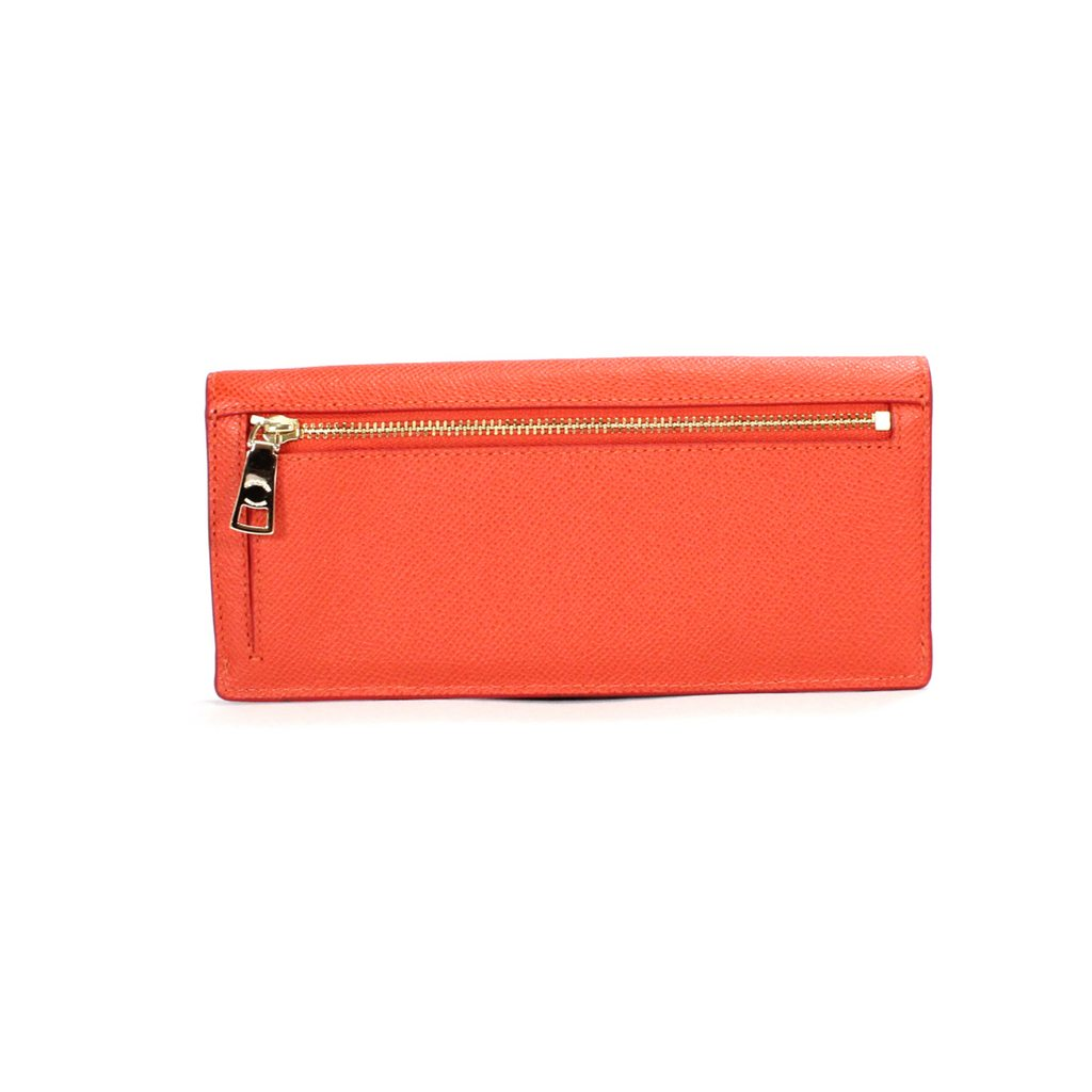 Coach Soft Wallet In Crossgrain Leather