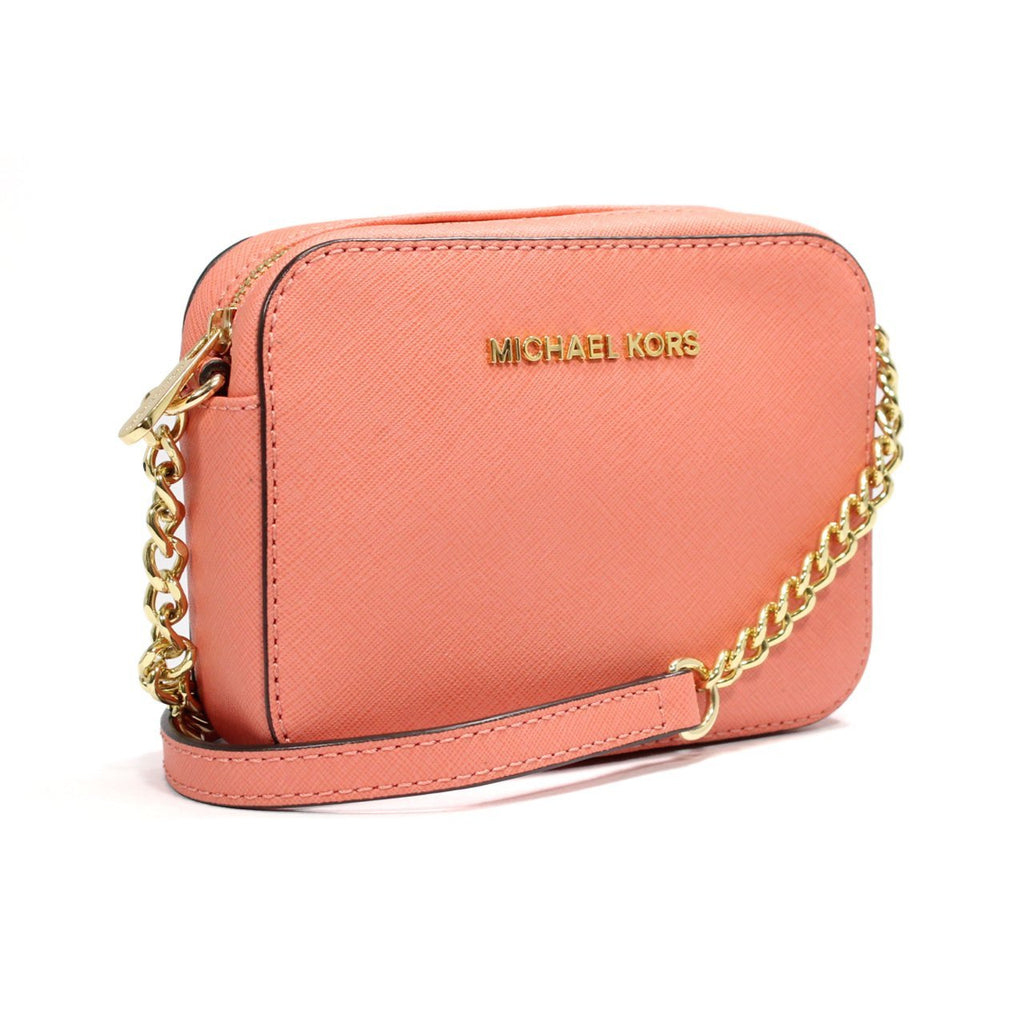 Michael Kors Jet Set Travel Saffiano Leather Crossbody