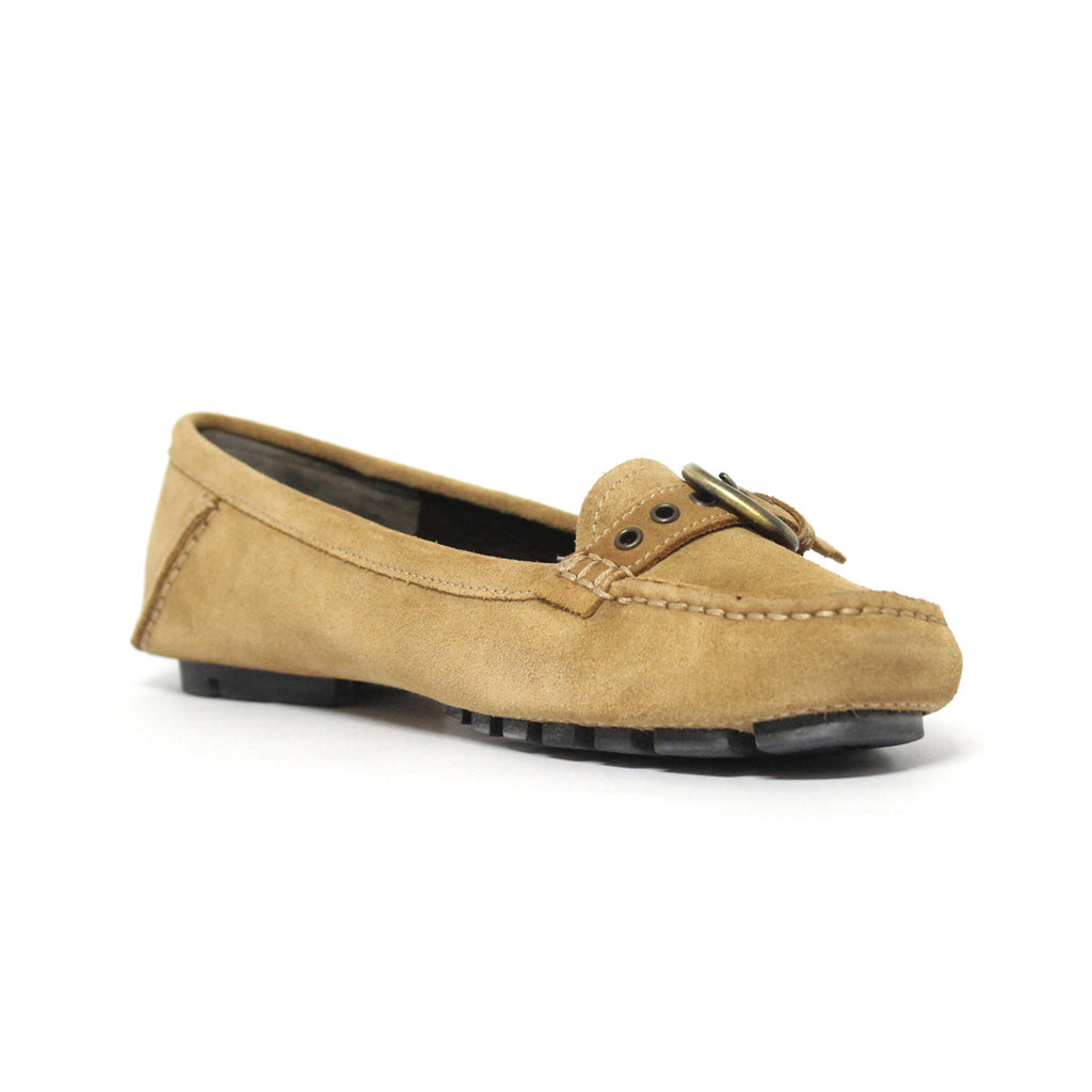 Bally Dorialla Womens Suede Driving Shoes