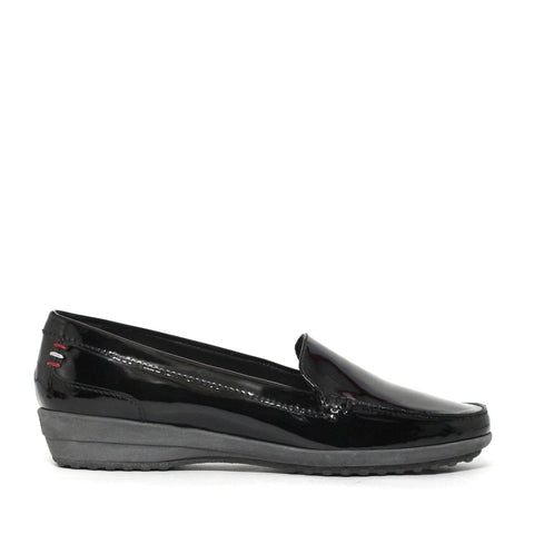 Bally Malabu Patent Women's Platform Slip-On Shoes