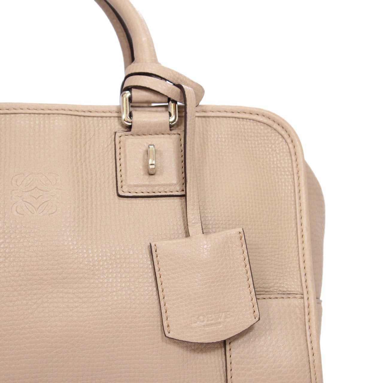 Loewe Amazona Bag In Textured Goat Skin And Sheep Skin Leather