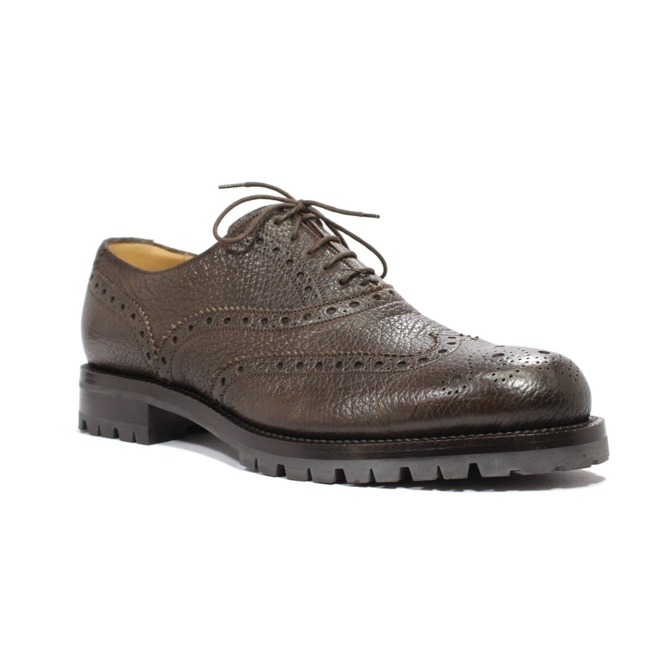 Bally Bindy Full-Brogue Men's Haindpainted Oxford Shoes