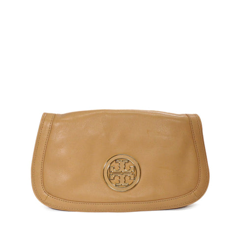 Tory Burch Amanda Dual Purpose Logo Clutch Bag