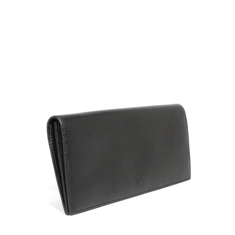 Loewe Textura Leather Long Flip Open Wallet