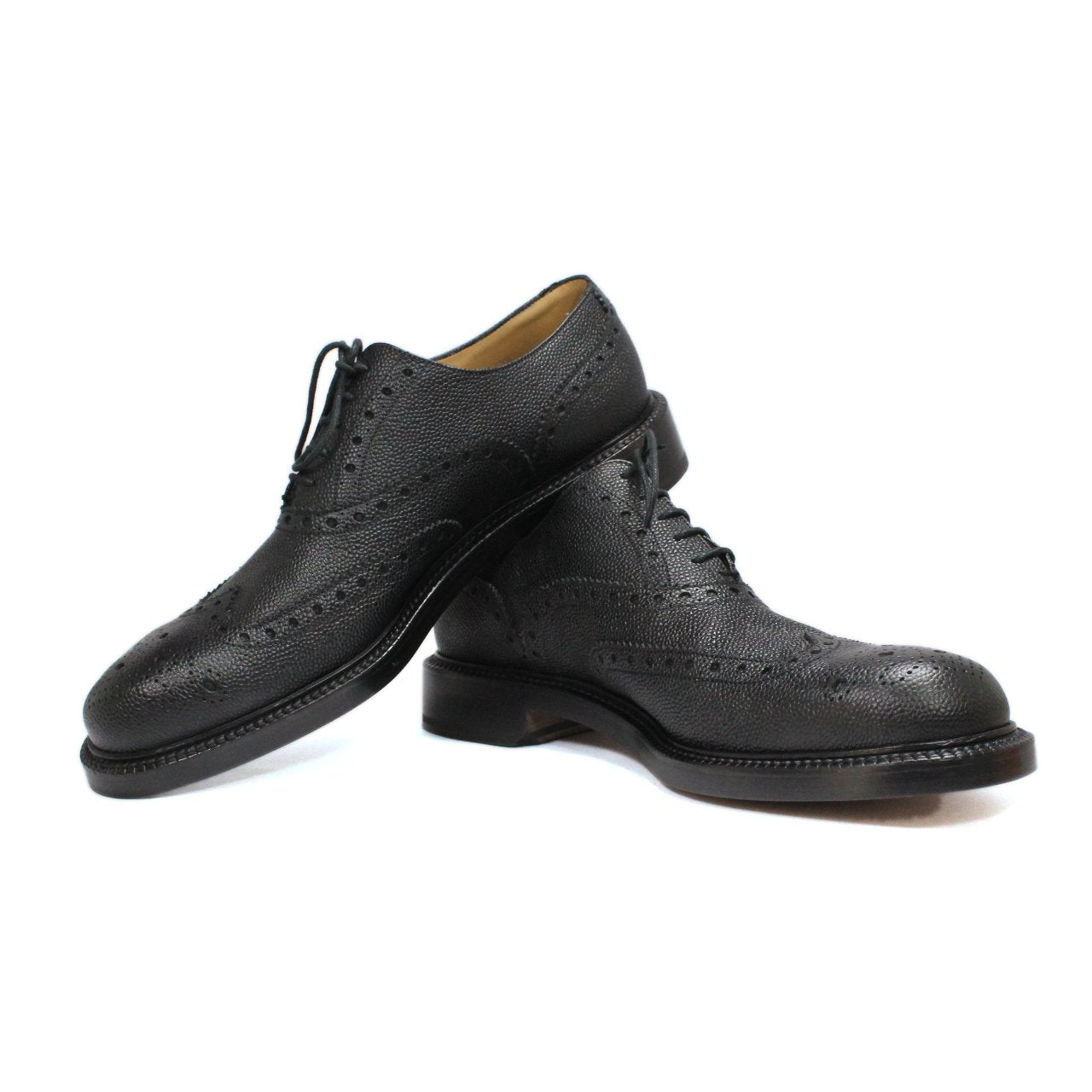 Bally Bindy Full-Brogue Men's Oxford Black Shoes