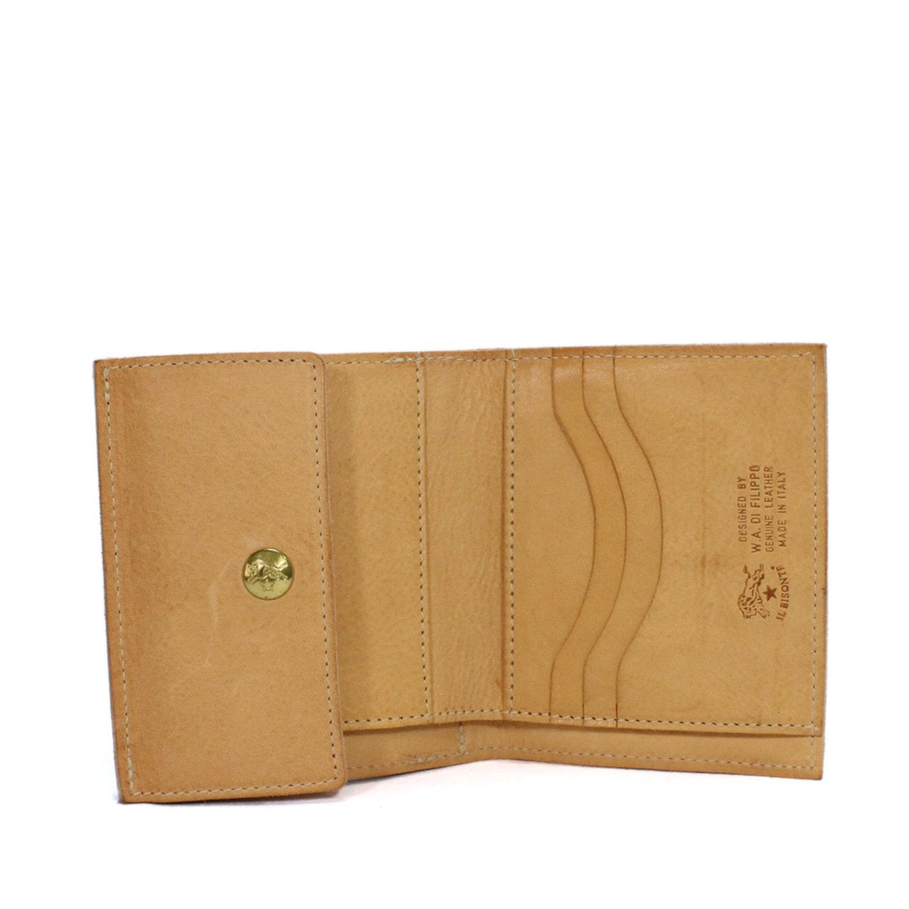 Il Bisonte Two-Fold Wallet