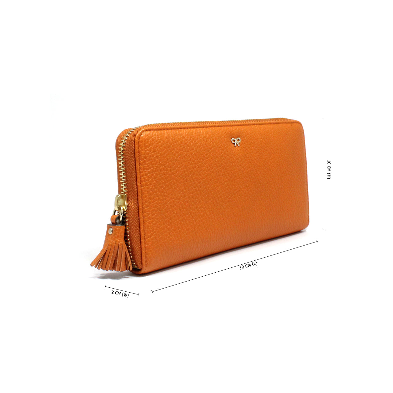Anya Hindmarch Zip-Around Continental Wallet