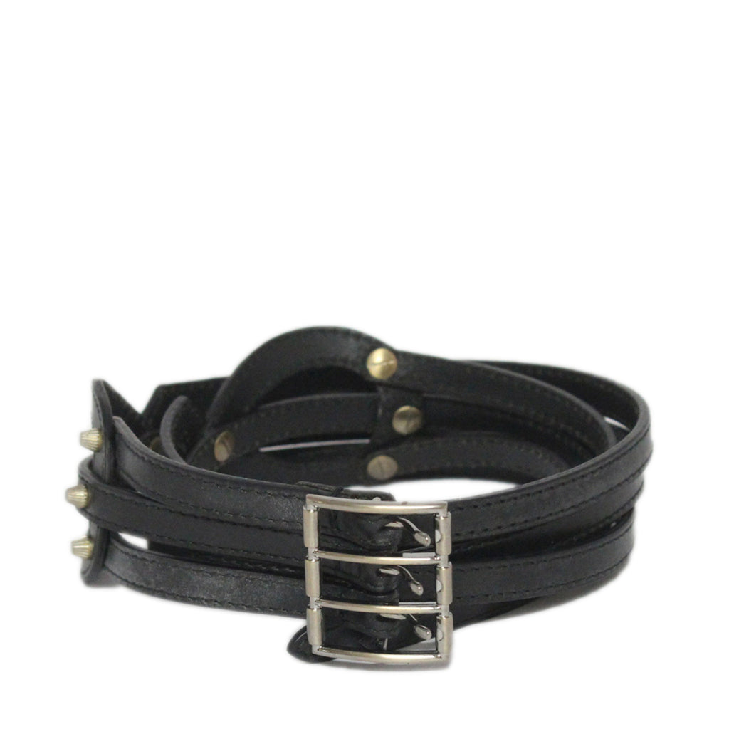 Bally Brumia Entwined Leather Womens Belt