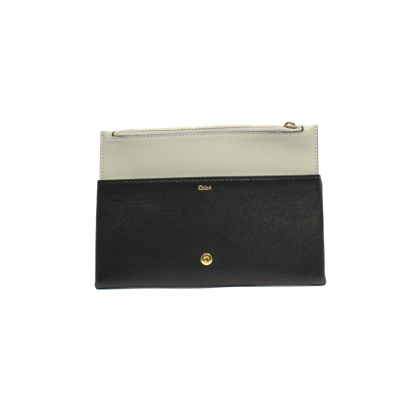 Chloe Fold-Over Classic Travel Wallet